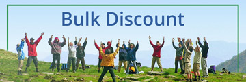 5% discount when you book 10 room nights or more in one booking.